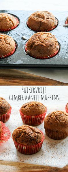 Suikervrije gember kaneel muffins | It's a Food Life