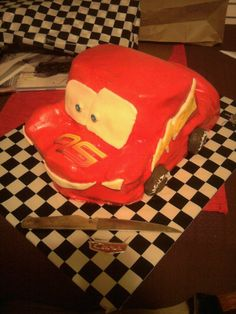 More cake- Cars this time