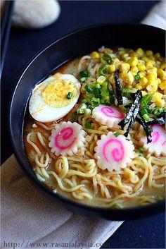 Miso Ramen Recipe | Easy Asian Recipes at RasaMalaysia.com