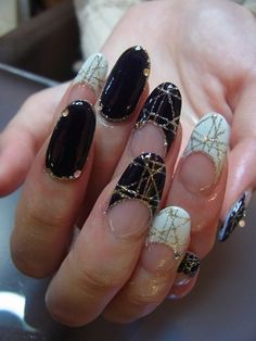 Japanese Nail Art Manicure French Tips