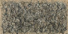 Jackson Pollock, One: Number 31, 1950.