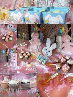 Easter bunny party theme inspiration