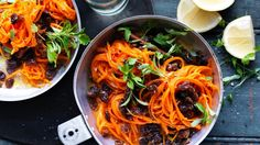Carrot and sultana salad recipe