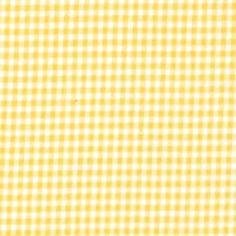 Michael Miller - Tiny Yellow Gingham
