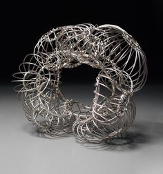 Bracelet | Susie Ganch. 'Untitiled'. Silver. | http://www.susieganch.com