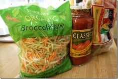 Ground turkey broccoli Sawghetti Crock Pot Recipe - interesting...gluten free, paleo, healthy!