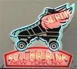 Swank Roller Rink neon sign in New York, New York. Roller Derby, Roller Rink, Roller Skating, Skating Rink, Old Neon Signs, Vintage Neon Signs, Fun Signs, Neon Jungle, Advertising Signs