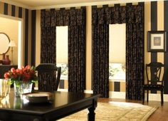 Curtain Interior Design by no means go out of styles. Curtain Interior Design might be adorned in numerous means and every pieces of furniture picked claim some Curtains Over Blinds, Curtains And Draperies, Brown Curtains, Types Of Curtains, Luxury Curtains, Window Curtains, Curtain Valances, Wood Blinds, Curtain Styles