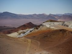 The view from Volcano Toco in northern Chile - an easy 18000+ foot mountain to climb.