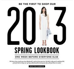 Madewell 2013 Spring Lookbook