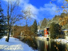 New Years Day, 2014, Saranac River, +3F, 845am.