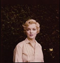 Marilyn Monroe photographed by Milton Greene, 1956
