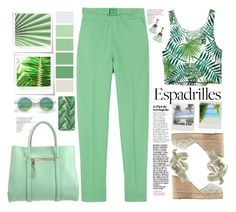 """By look licethfashion#🌴🌴🌴"" by licethfashion ❤ liked on Polyvore featuring Diane Von Furstenberg, See by Chloé, Miista, Chloé, CLUSE, Pottery Barn, Castañer and Loren Hope"