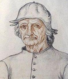 Attributed to Jacques Le Boucq, Portrait of Hieronymus Bosch. Bosch – 9 August was an Early Netherlandish painter. Hieronymus Bosch, Famous Artists, Great Artists, Pieter Brueghel El Viejo, Robert Campin, Lucas Cranach, Pieter Bruegel The Elder, Jan Van Eyck, Renaissance Artists