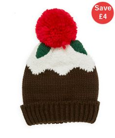 View details of Musical Christmas Pudding Hat