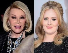 Joan Rivers Compare With Adele