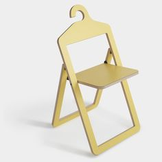 Hanger Chair Yellow on bezar.com