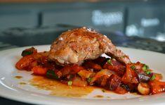 Telecí pavouček Nachos, Tandoori Chicken, Meat, Ethnic Recipes, Food, Essen, Meals, Tortilla Chips, Yemek
