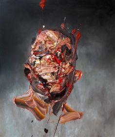 Self-Portrait on Grey 2 by Antony Micallef