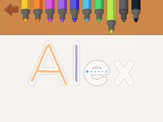 iTrace Handwriting App Makes Learning Fun  - Pinned by @PediaStaff – Please Visit  ht.ly/63sNt for all our pediatric therapy pins