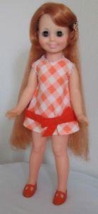 Cricket grow hair vintage doll