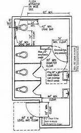 Handicap Bathroom Requirements Commercial: Single