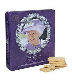 View the Queen Elizabeth II's 90th Birthday Shortbread Tin (300g)