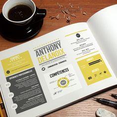Resume infographic : Votre CV sur-mesure et personnalisé ! > CV Etudiant : impeccable < www. Layout Cv, Layout Design, Typography Letters, Typography Design, Lettering, Graphic Resume, Cv Original, Cv Curriculum Vitae, Cv Inspiration