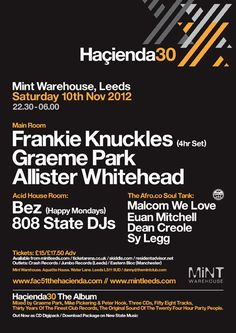 Image result for warehouse project manchester flyer