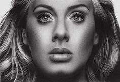 "61 Likes, 3 Comments - Maria Rose Alexandra (@springintheautumnws) on Instagram: ""I just love Adele!regram @mairapoli Adele! Papel Lana Bristol 250g/m e grafite STAEDTLER #Lana…"""