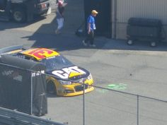 Newman to the garage
