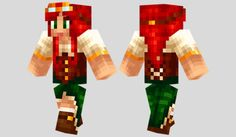 Steampunk Girl Skin para Minecraft