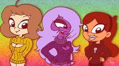 Keyholes by Rayryan on DeviantArt Grabity Falls, The Loud House Fanart, Steven Universe, Crossover, Disney Characters, Fictional Characters, Cartoons, Kitty, Fan Art