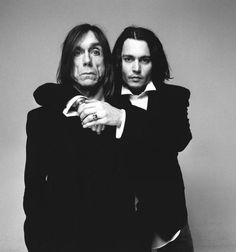 Iggy Pop & Johnny Depp