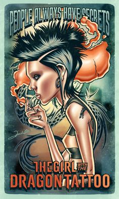 The Girl With The Dragon Tattoo by Renato Cunha