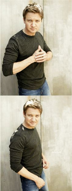 Jeremy Renner, you beautiful man you.