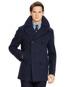 Wool-Blend Pea Coat - Polo Ralph Lauren Pea Coats & Top Coats  - RalphLauren.com
