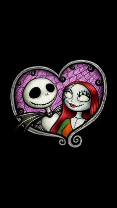 disney fondo and jack image - The Nightmare Before Christmas Jack And Sally