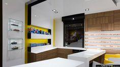 Ottica VITTUONE, Vittuone (MI) project ARKETIPO DESIGN ITALY. www.arketipodesig.it