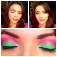 Lime pink http://www.makeupbee.com/look.php?look_id=63888