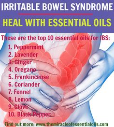 In this article, find out the top 10 essential oils for IBS and how to use them. By using essential oils for IBS, you can get your stomach pain, gas, blo