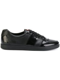 Slip on Sneakers for Women On Sale in Outlet, Black, Leather, 2017, 2.5 Prada