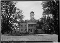 Hampton Mansion, Georgian Townhouse, Southern Architecture, Southern Homes, Historic Homes, Historical Sites, West Virginia, Old Houses, Baltimore