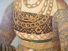 Detail of Elisabeth von Baden (brustfleck)