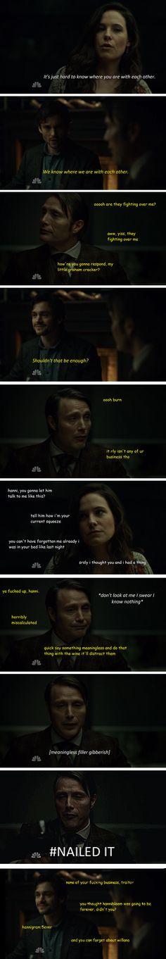 "Hannigram vs Hannibloom ||| Hannibal 2x10 ""Naka-Choko"" Edit"