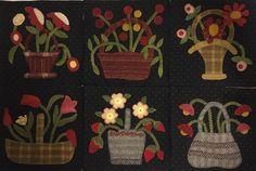 Little Wooly Baskets of Linen Closet Designs, done by Susan Calhoun