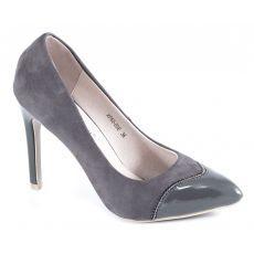 Pantofi dama gri XF65-03E