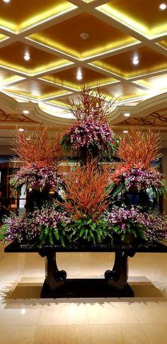 Resorts World Manila, Philippines, Floral, Flowers, Flower