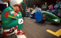 Michael Schumacher Jordan F1 first race Spa-Francorchamps 1991