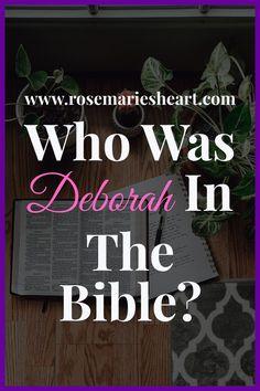 Deborah In The Bible, Online Bible Study, Study Board, Power Of Prayer, Great Women, Bible Scriptures, Talking To You, Prayers, Judges